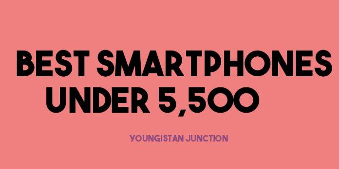 Best Phones Under 5500